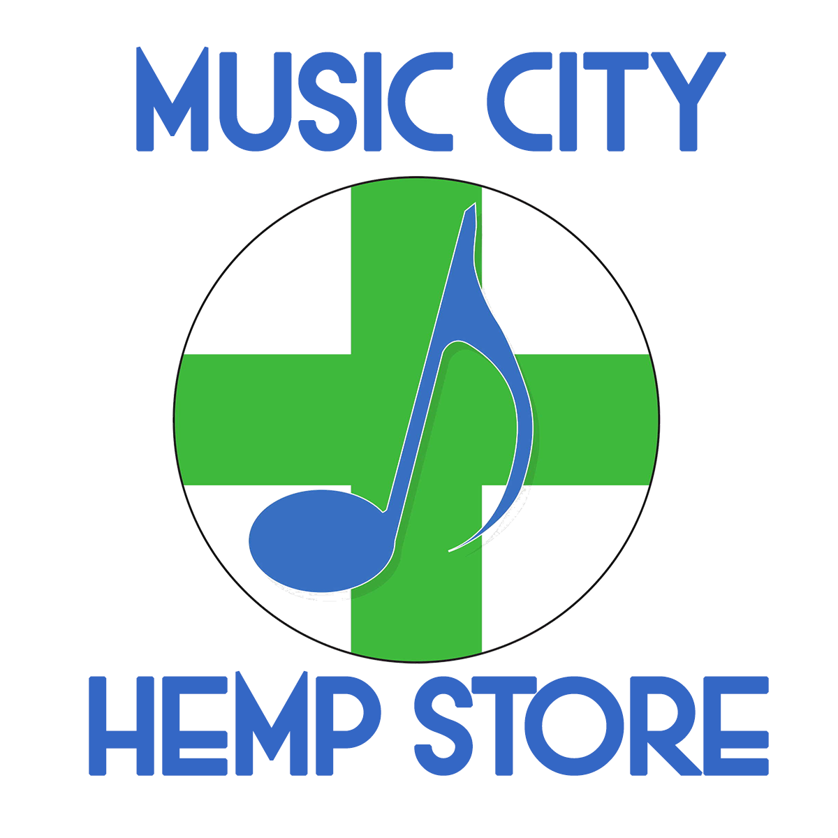 Music City Hemp Store logo